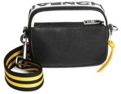 Givenchy Men's Colorblocked Leather Crossbody Bag - Black Yellow