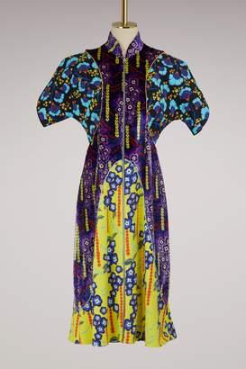 Mary Katrantzou Kelpie printed velvet dress