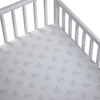 CoCalo Voile Printed Fitted Crib Sheet