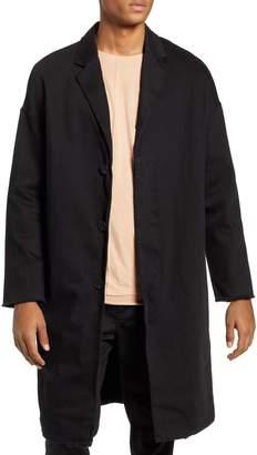 Neuw Relaxed Fit Long Denim Coat