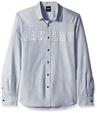 Oakley Men's Icon Oxford Logo Ls Shirt