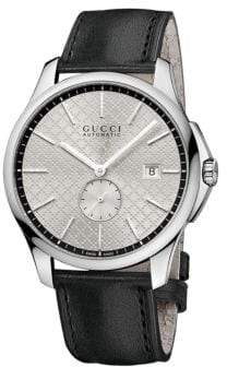 Gucci Mens G-Timeless Watch with Diamante Dial