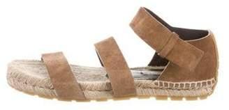 Balenciaga Suede Espadrille Sandals Brown Suede Espadrille Sandals