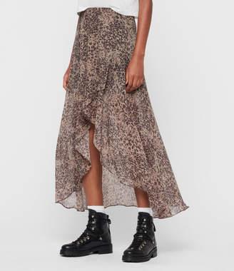 AllSaints Slvina Patch Skirt
