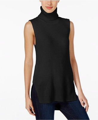 Calvin Klein Jeans Turtleneck Tunic Sweater $69.50 thestylecure.com