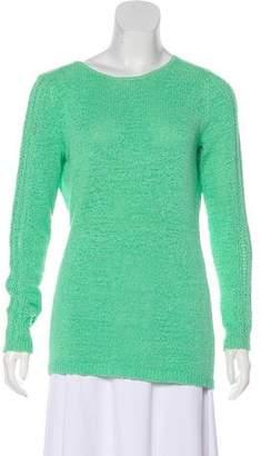Rachel Zoe Knit Scoop Neck Sweater
