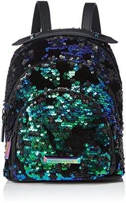 Annabelle Nylon, Womens Backpack, Schwarz (Black - Black), 12x26x22 cm (B x H T) Kendall + Kylie