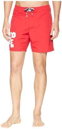 Lacoste Nylon Graphic Mid Length Men's Swimwear