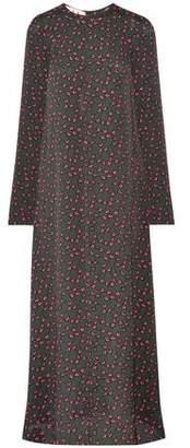 Marni Floral-Print Crepe Maxi Dress