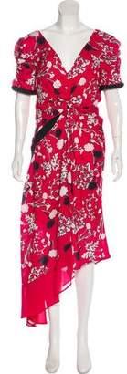 Self-Portrait Floral Maxi Dress