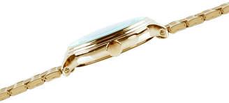 Disney Mickey Mouse Mens Gold Tone Bracelet Watch-Wds000687