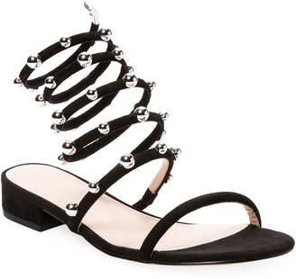 AVEC LES FILLES Cora Leather Sandal