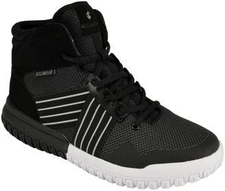 Black & Gray Blast Hi-Top Sneaker - Men $40 thestylecure.com