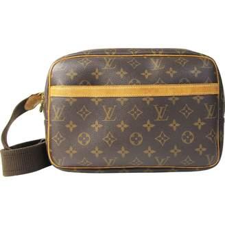 Louis Vuitton Reporter Cloth Handbag