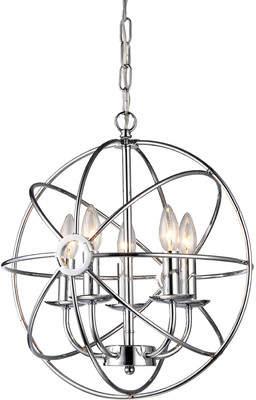 Warehouse of Tiffany Aidee 5-Light Globe Pendant