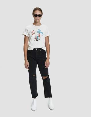 RE/DONE Her Way Graphic Tee