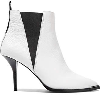Acne Studios Jemma Textured-leather Ankle Boots