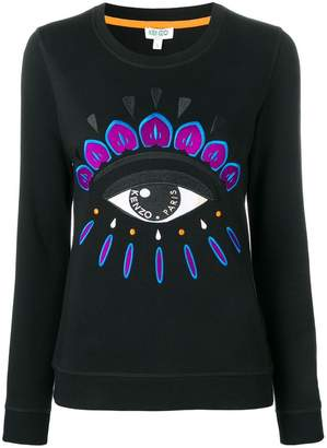 Kenzo Evil Eye embroidered sweatshirt