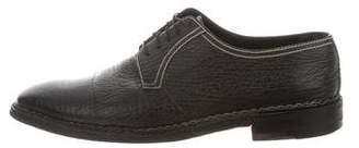 a. testoni a.testoni Shark Skin Derby Shoes