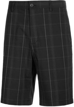 Greg Norman for Tasso Elba Men's Big & Tall Plaid Golf Shorts, Only at Macy's $65 thestylecure.com