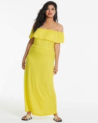 a5afb83a9 Bardot Capsule Yellow Maxi Dress