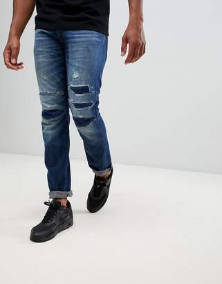 G Star G-Star 3301 tapered 3d restored jeans
