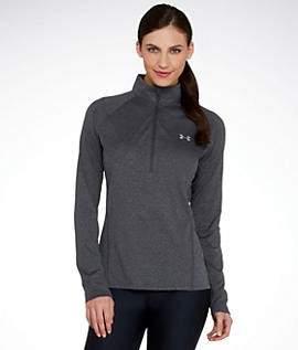 Under Armour Women Tech Quarter Zip Long Sleeve Shirt - XS - GREY