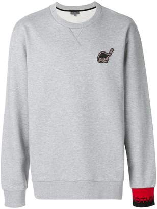 Lanvin Dino patch sweatshirt