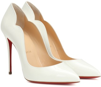 Christian Louboutin Exclusive to Mytheresa Hot Chick 100 patent leather pumps