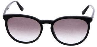 Valentino Gradient Round Sunglasses