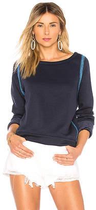Maaji Deep Blue Lagoon Reversible Sweatshirt