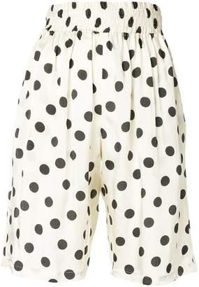 Hache polka dot shorts