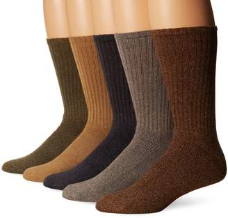 Dockers Big Tall 5 Pack Big and Tall Cushion Comfort Sport Crew Socks