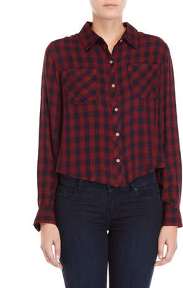 C&C California Two-Pocket Plaid Shirt