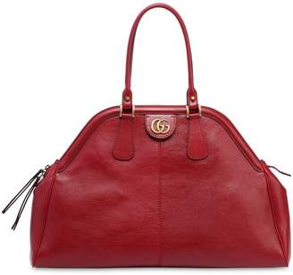 Gucci Maxi Dome Leather Top Handle Bag