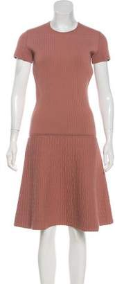 Tomas Maier Quilted Midi Dress w/ Tags