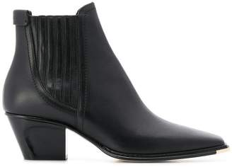 Jimmy Choo slip-on ankle boots