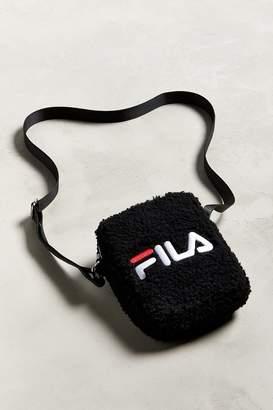 Fila UO Exclusive Sherpa Mini Messenger Bag