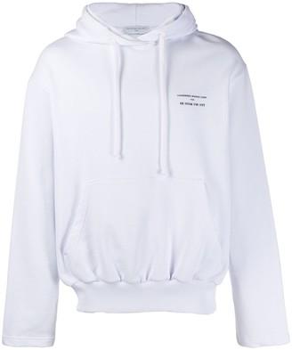 Ih Nom Uh Nit Runway Division print hoodie