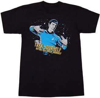 Mighty Fine Star Trek Trek Yourself Before You Wreck Yourself T-Shirt