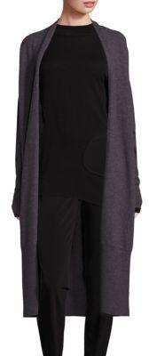 DKNY Merino Wool Long Cardigan $398 thestylecure.com