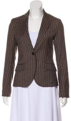 Theory Wool-Blend Stripe Blazer