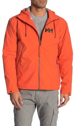 Helly Hansen Front Zip Hooded Rain Jacket