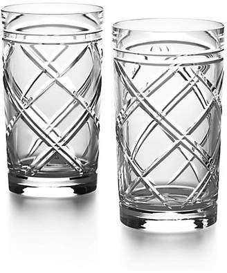Ralph Lauren Brogan Crystal Highball Glasses/Set Of 2