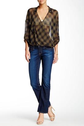 Big Star Hazel Mid Rise Bootcut Jean $98 thestylecure.com