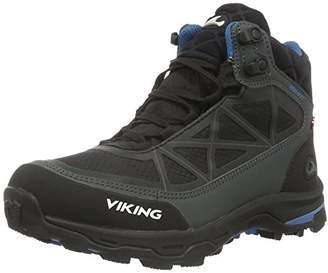 Viking Unisex Adults' Ascent II Low Trekking and Walking Shoes Black Size: 8