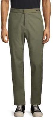 Roberto Cavalli Straight-Leg Buttoned Cotton Pants