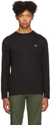 Lacoste Black Classic Long Sleeve T-Shirt
