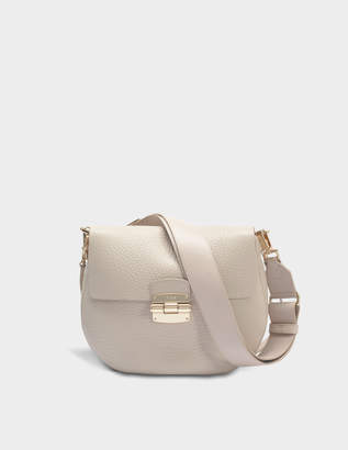 Furla Club S Crossbody Bag in Vanilla Nirvana Leather