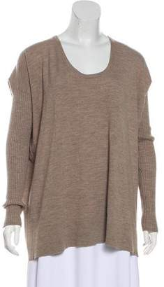The Row Virgin-Wool Long Sleeve Sweater